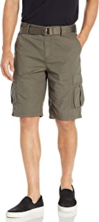 Men's Belted Ripstop Short
