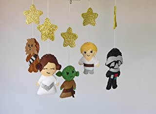 Star Wars baby mobile Star wars nursery decor Star wars baby shower Boy baby mobile Cot mobile Hanging crib mobile Baby shower gift