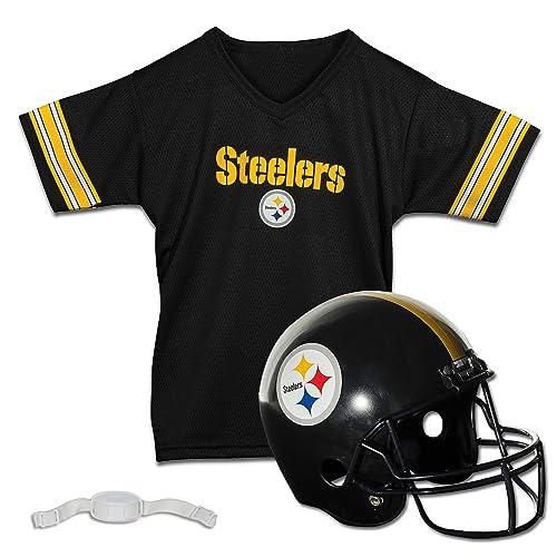 1196b980904 Franklin Sports NFL Team Licensed Youth Helmet and Jersey Set