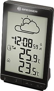 Bresser Estación meteorológica Temeo Trend STX con Sensor Exterior, Negro