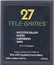 Atari Video Computer System Cartridge - 27 Tele-Games