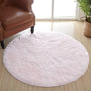 Best pink round rug nursery Reviews