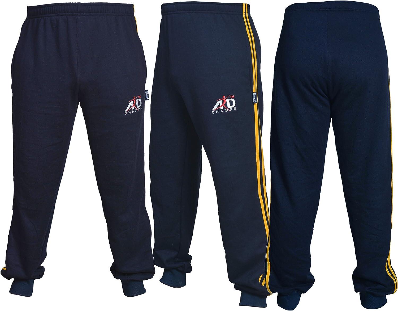 ARD Men's Fleece Joggers Sweatpants Casual Gym Tracksuit Running Jogging Trousers