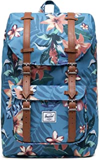 Herschel Supply Co. Little America Mid-Volume Summer Floral Heaven Blue One Size