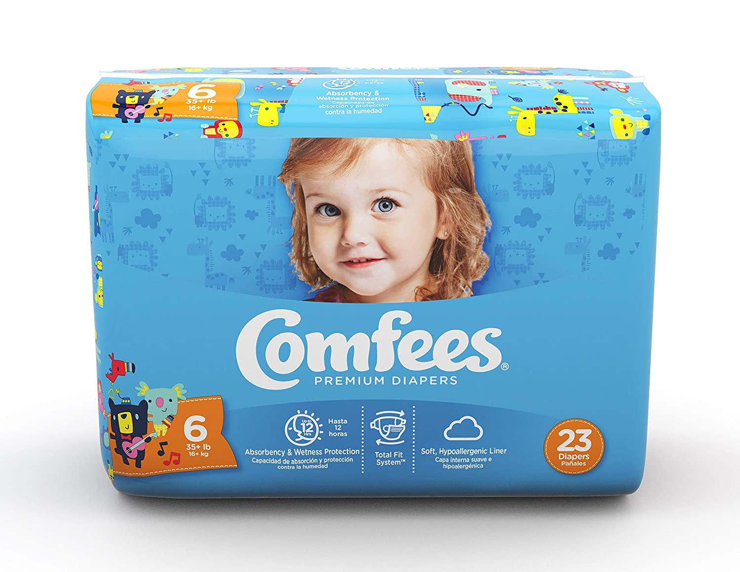 Comfees Baby SEAL limited product Diapers National products Size 6 -