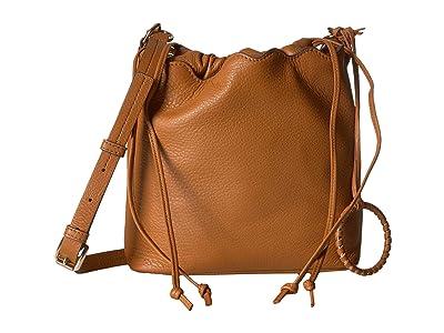 Vince Camuto Wavy Bucket (Hazel) Handbags
