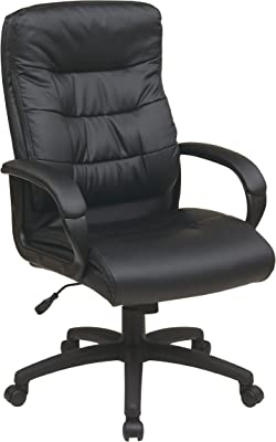 Amazon com: Essentials Executive Chair - Mid Back Office