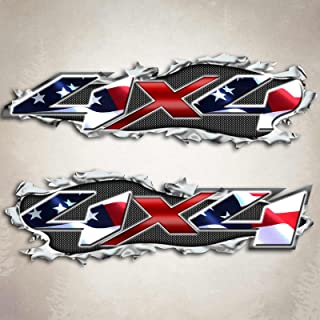 Best ripped flag decal Reviews