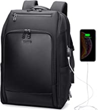 Professional Laptop Backpack with USB Charging, Anti Theft, TSA Friendly, Travel Backpack for Men, Business and College Students, Fit 15.6 Inch Laptop, Books