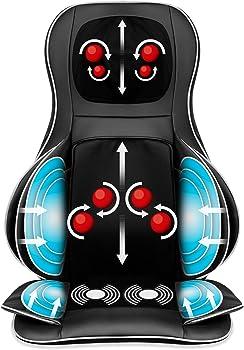 Air Compression Shiatsu Neck & Back Massager Seat