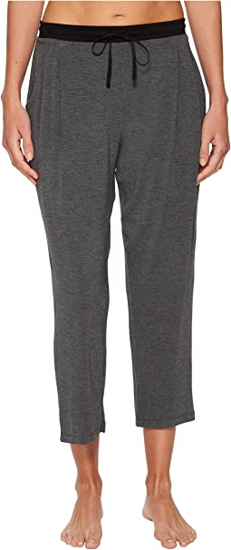 Modal Spandex Jersey Capri Pants