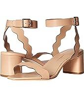 Loeffler Randall - Emi Scallop Block Heel Sandal