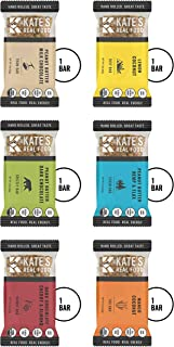Kate's Real Food Granola Bars | Clean Energy, Organic Ingredients, Gluten Free, Non GMO | All Natural Delicious Health Snack (Variety Pack, 6 BARS)