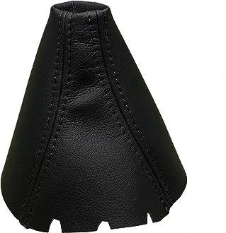 Para MAZDA2 Modelos 2002-2007 Funda para Palanca de Cambio 100/% Piel Color Negro