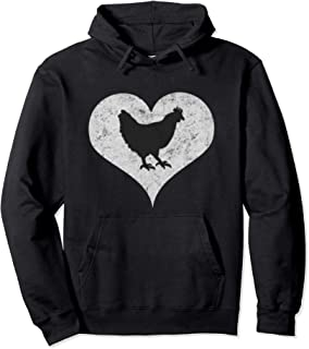 I Love Chickens Pullover Hoodie