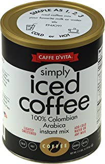 Caffe D'Vita Simply Iced Coffee 40 oz