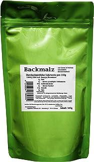 Backmalz 500g - aus Gerste, enzymaktiv - mind. 9 Monate MHD