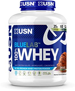Sponsored Ad - USN Supplements BlueLab 100 Percent Whey Protein Powder - Keto Friendly, Low Carb and Low Calorie