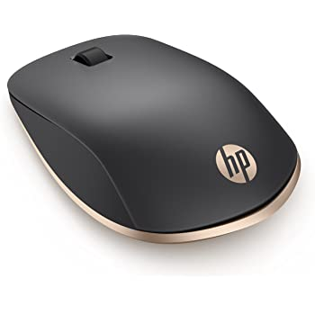 HP Z5000 (W2Q00AA) kabellose Maus (Bluetooth, 1.200 dpi, 3 Tasten, Scrollrad) schwarz gold