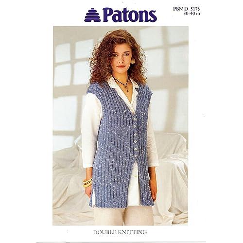 0a6b1b130 Waistcoat Knitting Patterns  Amazon.co.uk