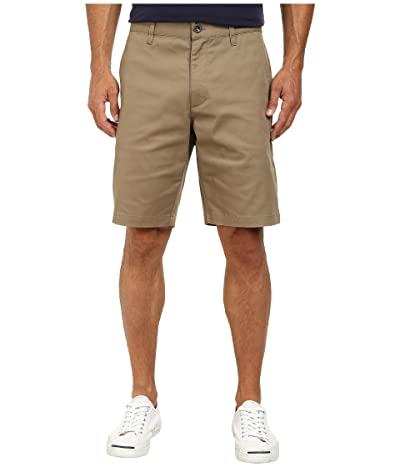 RVCA The Week-End Stretch Shorts (Dark Khaki) Men