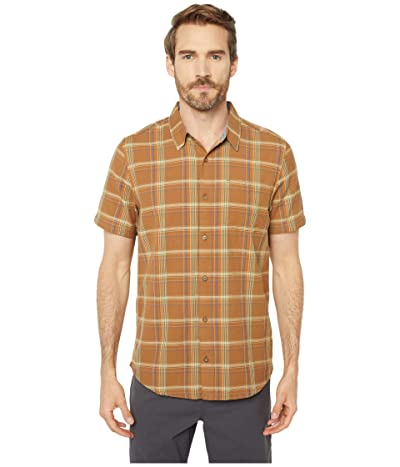 Toad&Co Airscape Short Sleeve Shirt (Tabac) Men