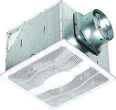Air King E130DH Energy Star Dual Speed Humidity Sensing Exhaust Bath Fan, 130-CFM, White Finish