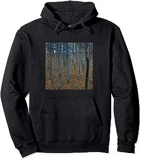 Beech Forest by Gustav Klimt, Art Nouveau Hoodie