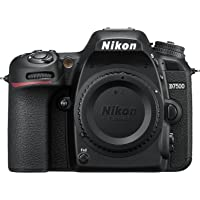 Deals on Nikon D7500 DX-format SLR Camera w/18-55 & 70-300 Lens Refurb