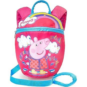 Kids Girls Peppa Pig Festival Fun Backpack School Nursery Book Bag Rucksack