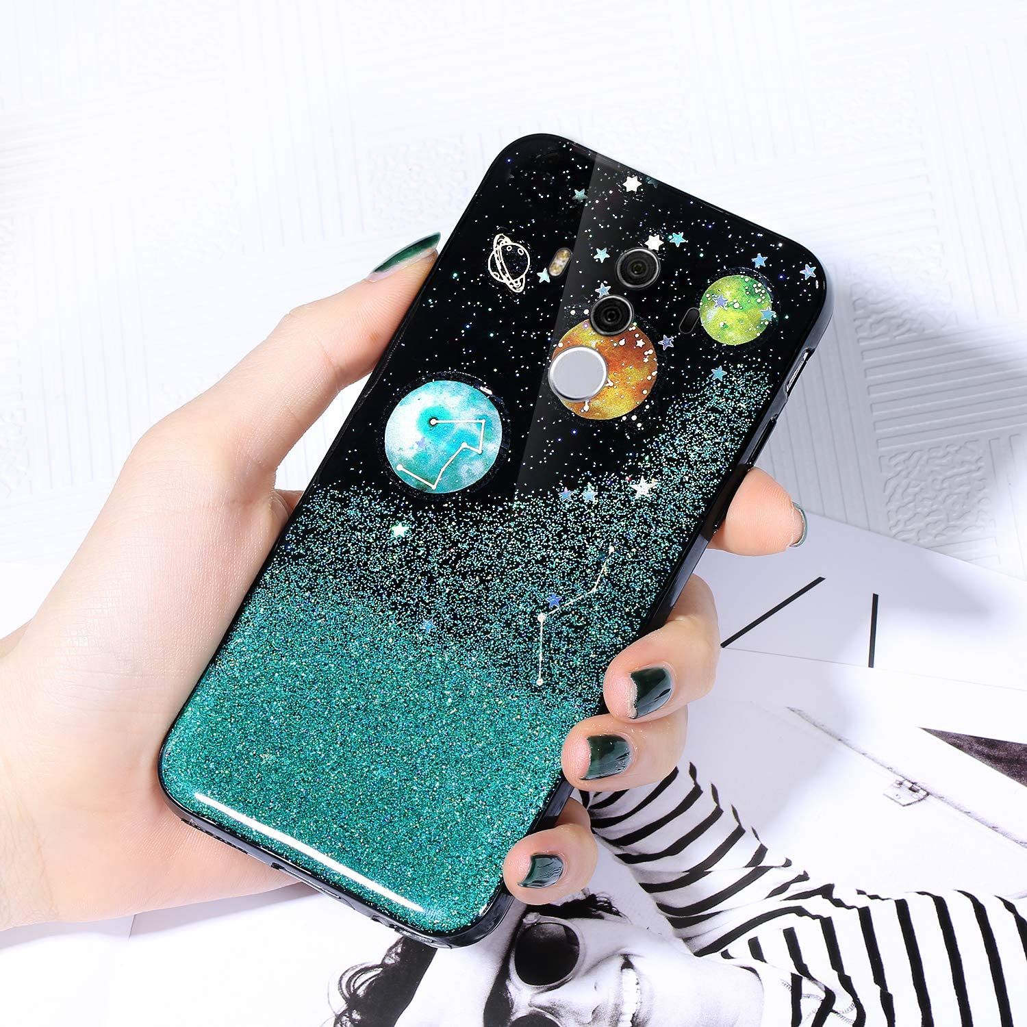 Case for Huawei Mate 10 Pro Sta Sparkle Shiny OFFer Selling Cover Glitter