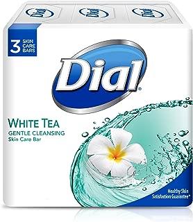 Dial Skin Care Bar Soap, White Tea & Vitamin E, 4 Ounce, 3 Bars