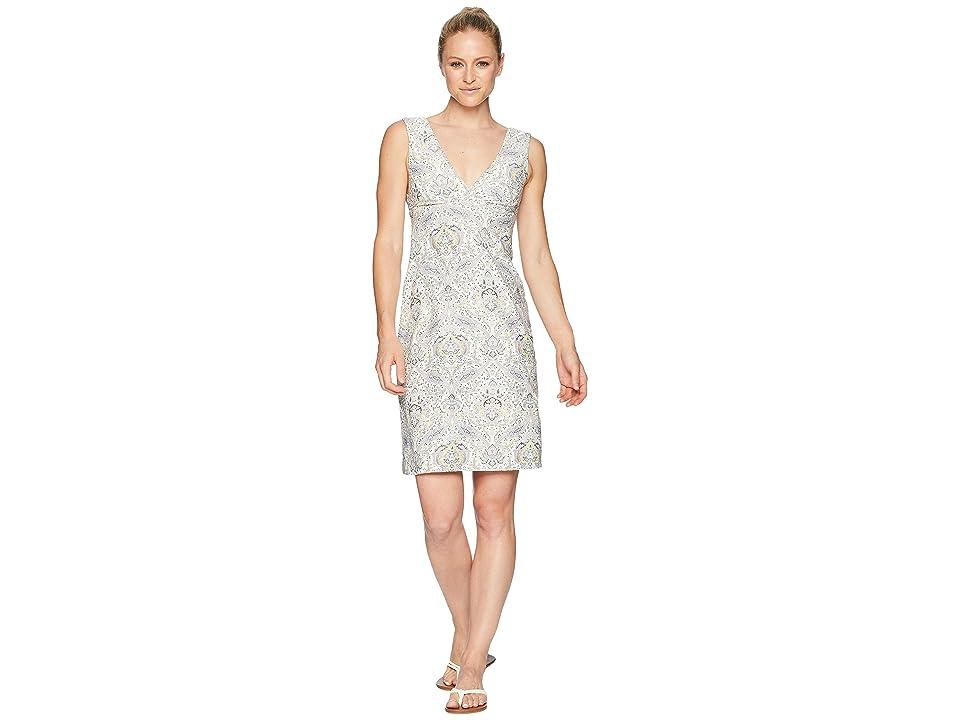 Carve Designs Cayman Dress (Olive Paisley) Women