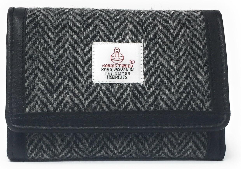 Bleu Harris Tweed Porte-Monnaie Choix de Couleurs Cadeaux Emball/és Femmes