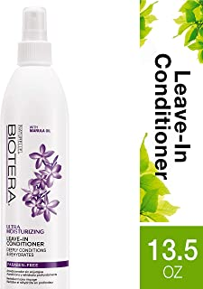 Biotera Ultra Moisturizing Leave-In Conditioner, with Marula Oil, Paraben-Free, 13.5-Ounce