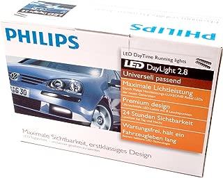 Philips Universal DayLight 2.8 LED Daytime Running Light 6000K DRL 12824WLVWAC1