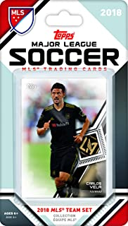 6dc7d8b13 Los Angeles Football Club 2018 Topps MLS Soccer Factory Sealed 9 Card Team  Set with Carlos