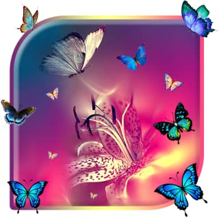 Butterfly Colorful Live wallpaper (free)