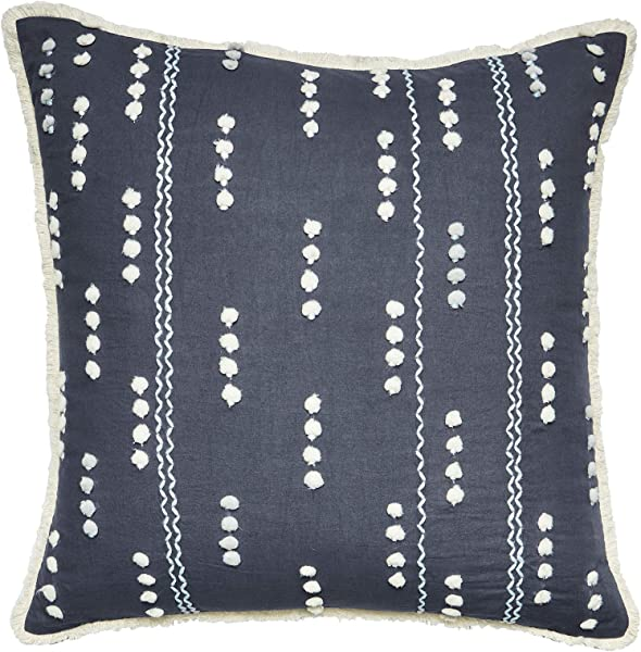 Splendid Home Throw Pillow 18x18 Blue