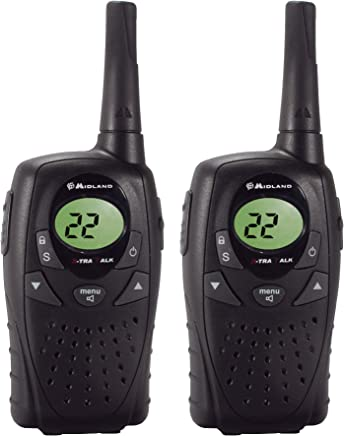 Pair Midland LXT300VP3 10-Mile 22-Channel FRS//GMRS Two-Way Radio