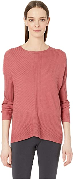 Fine Silk Cashmere Round Neck Top