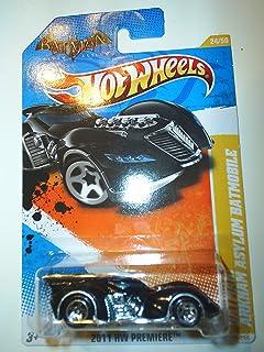 Hot Wheels 24/50 Batman Arkham Asylum Batmobile 1:64 Scale by Hot Wheels