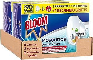 comprar comparacion Bloom Eléctrico Líquido - Pack de 2 Aparatos con 4 Recambios Anti Mosquitos