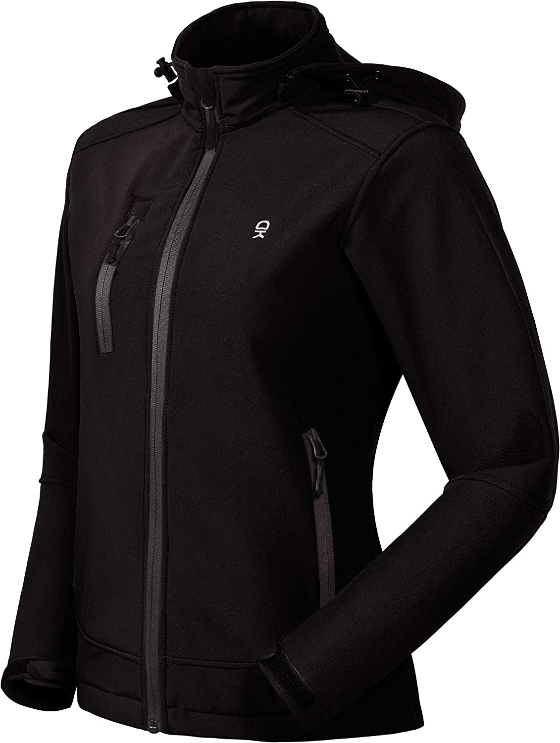 overseas Little Donkey Andy Women's Softshell with Removable Jacket Hood Now free shipping