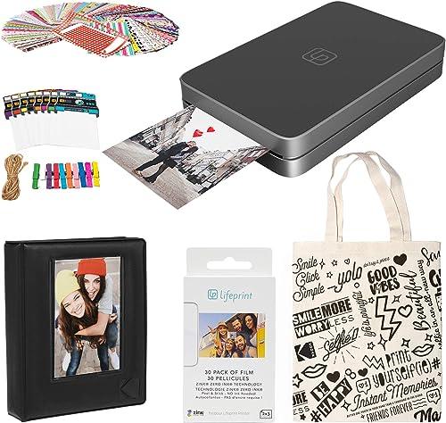 wholesale Lifeprint 2x3 Portable Photo and high quality Video Printer (Black) online Photo Frames Kit online
