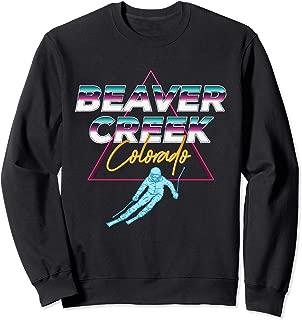 Beaver Creek Colorado -USA Ski Resort 1980s Retro Sweatshirt