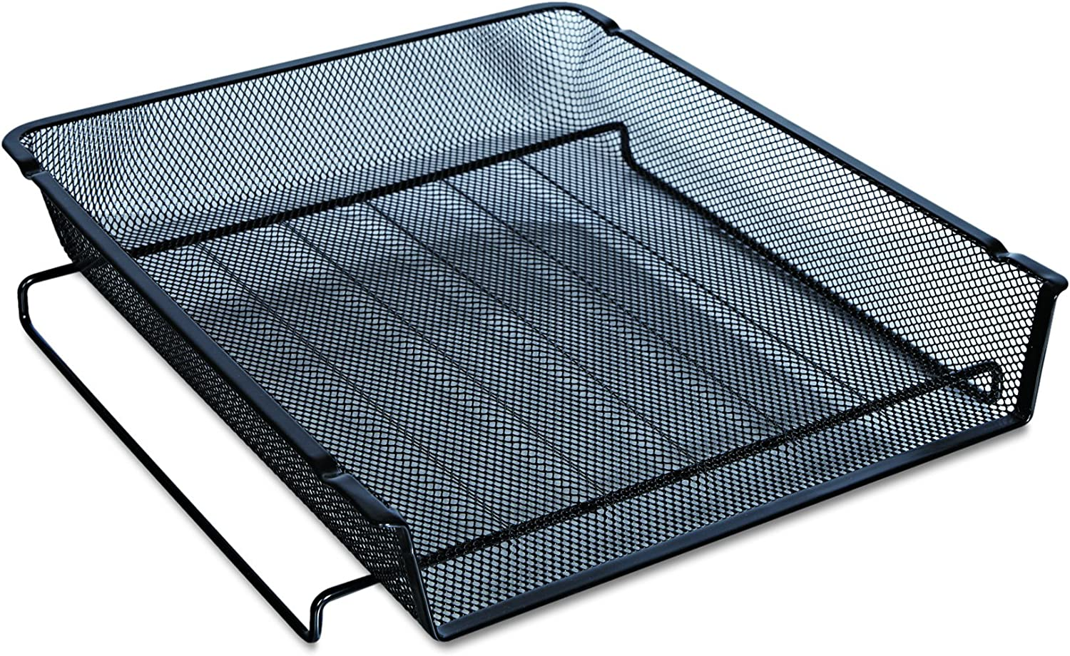 Universal 20004 Mesh Stackable Front Letter Tray Load Black Large discharge sale Ranking TOP5
