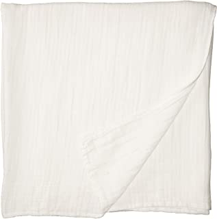 Cotton Organics Muslin Swaddle Blankets - Extra Soft and Hypoallergenic Organic Cotton - Pack of 1