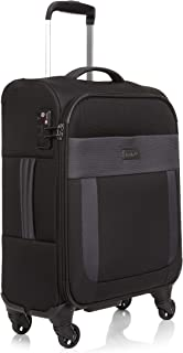 Antler 3905124026 Translite 4W Cabin Roller Case Carry-Ons (Softside), Black, 56 cm