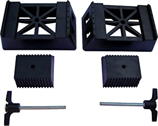 POWERTEC 71026 Plastic Sawhorse Brackets for Use with 2x4 Lumber | Kit Builds one Saw Horse, 2-Pack